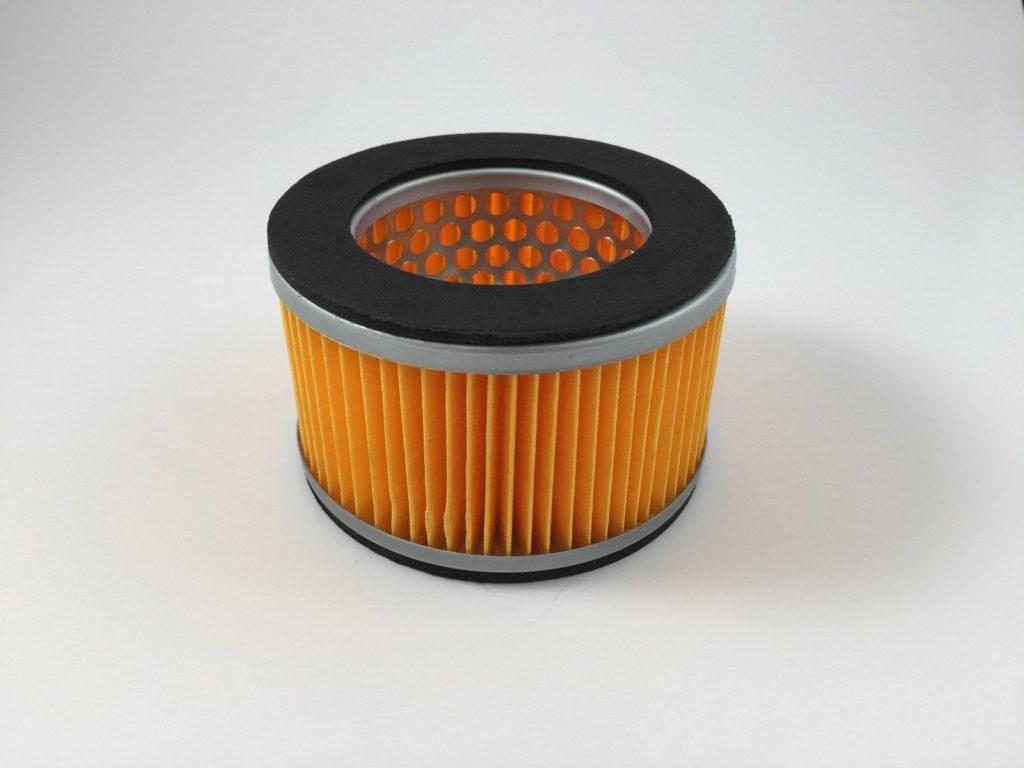 An air compressor filter element